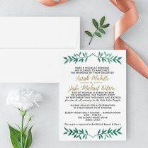 St George Wedding Invitations