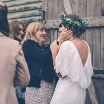 Ginger By Enzoani Bridal Gown For A Rustic Wedding At The Secret