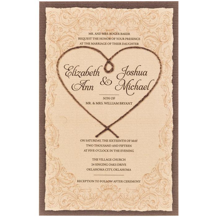 Hobby Lobby Wedding Invitation Templates