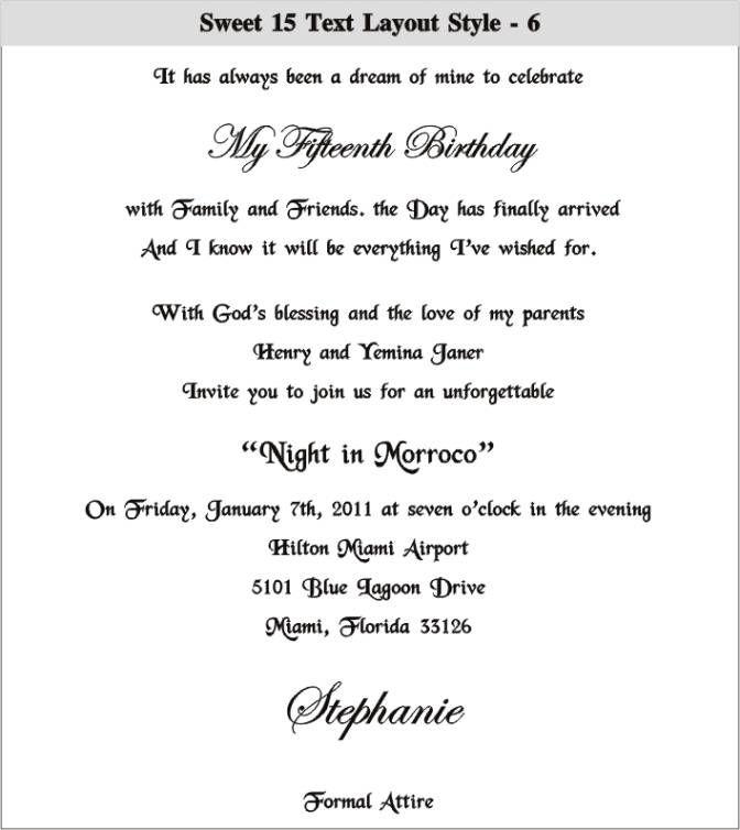 Hindu Wedding Invitation Text