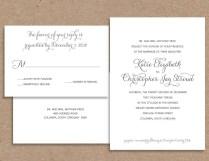 Informal Wedding Invitation Wording Couple Hosting Wedding