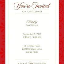 Invitation Ideas For Dinner Party Sample Invitation Beautiful
