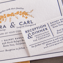 Letterpress Wedding Invitations From Pikestreetpress Is One Of The