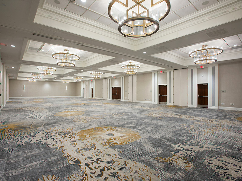 Ballroom Carpet Designs
