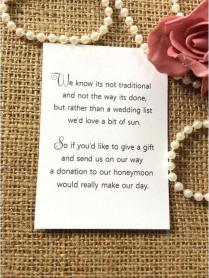 Non Traditional Wedding Invitations Invitation Wording From Brides