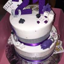Our Daughter Lucky In Las Vegas 21st Birthday Cake