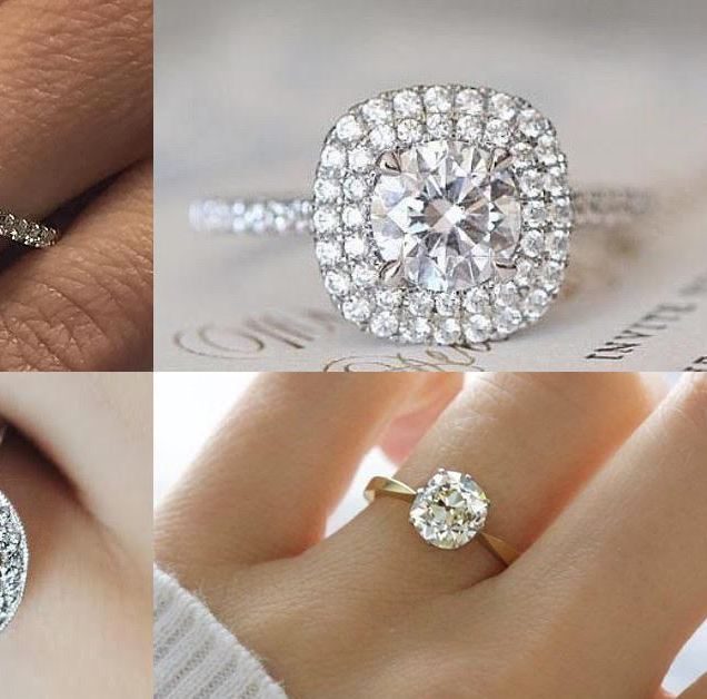 The Worlds Most Popular Engagement Ring Designs Feb 2017 Silver