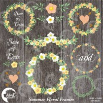 Wedding Clipart, Rustic Wedding Clipart, Bridal Shower Clipart