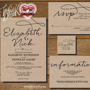 Wedding Invitation With Rsvp From S3 And Get Ideas To Create Your