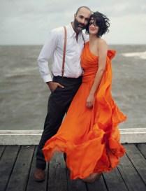 An Orange Wedding Dress Kirsty Matt