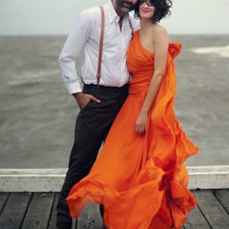 An Orange Wedding Dress Kirsty Matt