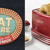 These 12 Vintage Items Turn Your Kitchen Into A Quaint Country Diner
