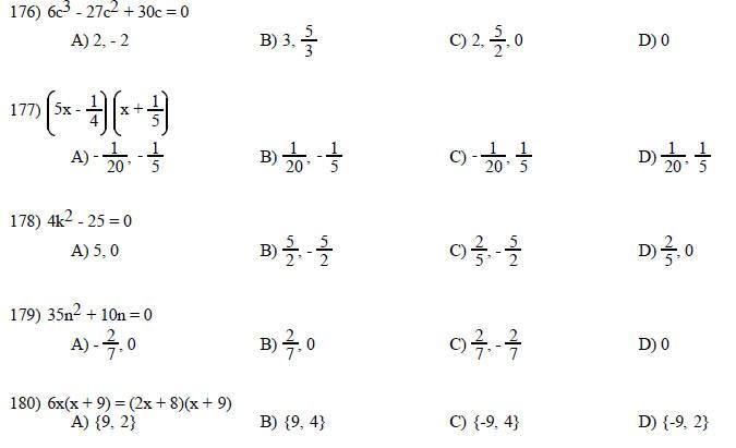 Math 35 Practice Final