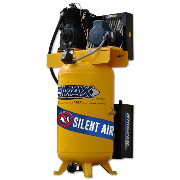 EMAX Industrial Plus 5hp 80 Gallon 3 PH Silent Air System