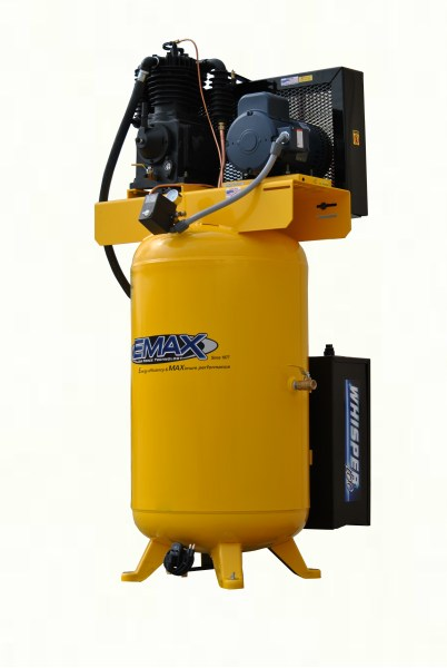 EMAX Industrial Plus 5hp 80 Gallon 3 PH Silent Air System