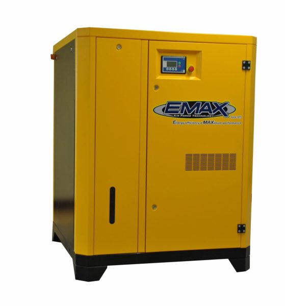EMAX Industrial 40 HP 3 Phase Rotary Screw Air Compressor