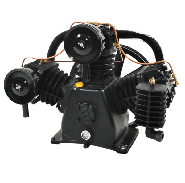 Airbase Industries 7.5hp 2 Stage 32 CFM Reciprocating Air Compressor Pump