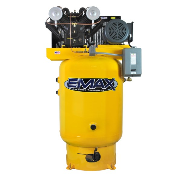Emax Industrial Plus 10hp Three Phase 120 gallon Vertical Air Compressor