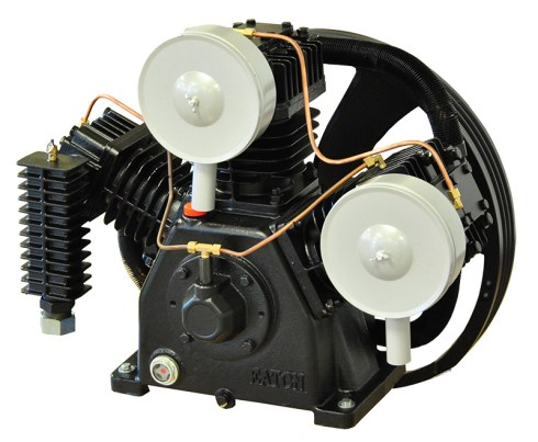 Airbase Industries 15hp 2 Stage 3 Cylinder 44 CFM Reciprocating Air Compressor Pump