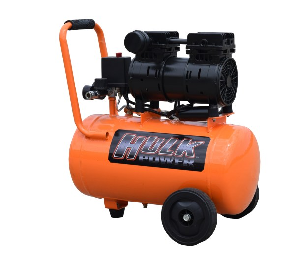 New 1hp 6 Gallon Hulk Silent Air Portable Compressor