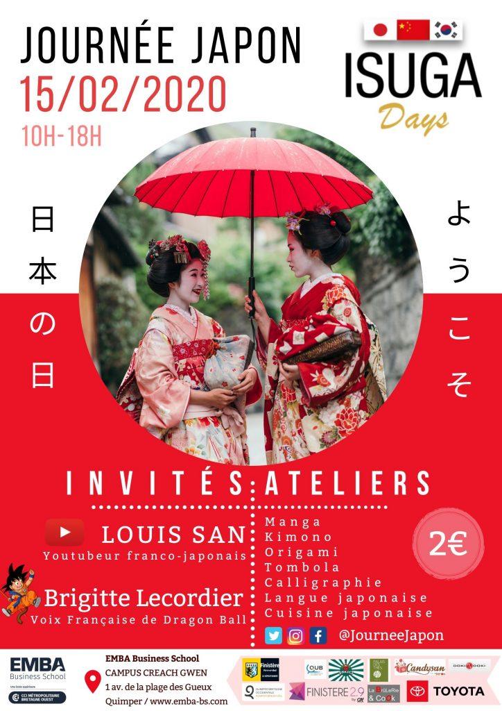 Affiche de la journée Japon