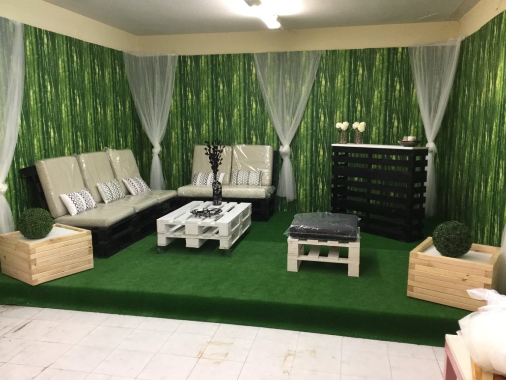 Venta de muebles hechos con Palets  Embalajes Nicols