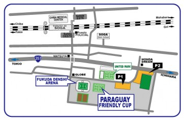 PARAGUAY-FRIENDLY-CUP-Map