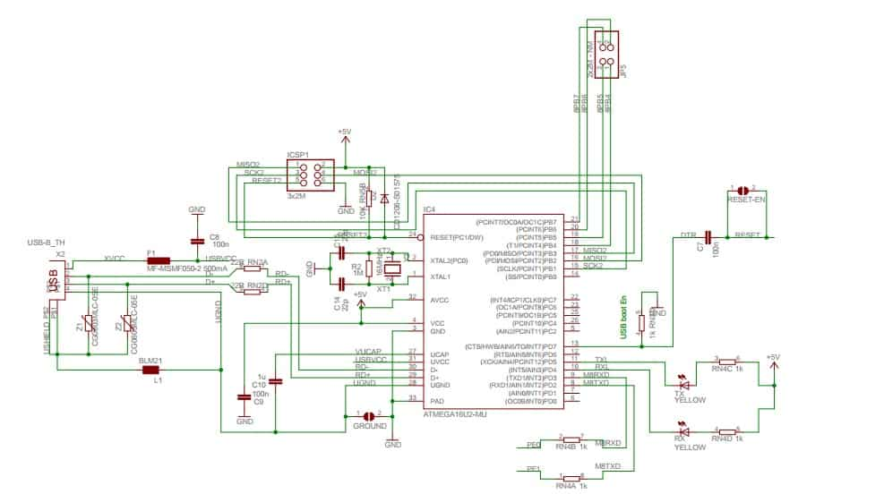 arduino mega 2560 circuit diagram motherboard placa - embarcados
