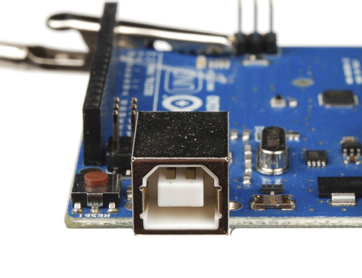 Sistema Web com Raspberry Pi: Arduino e porta USB
