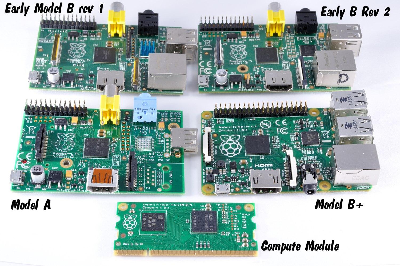 Sistema Web com Raspberry Pi: The Pi board Family