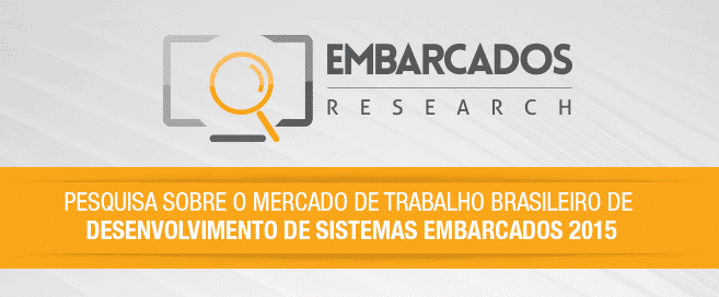 Pesquisa sobre o Mercado de Trabalho Brasileiro de Desenvolvimento de Sistemas Embarcados 2015