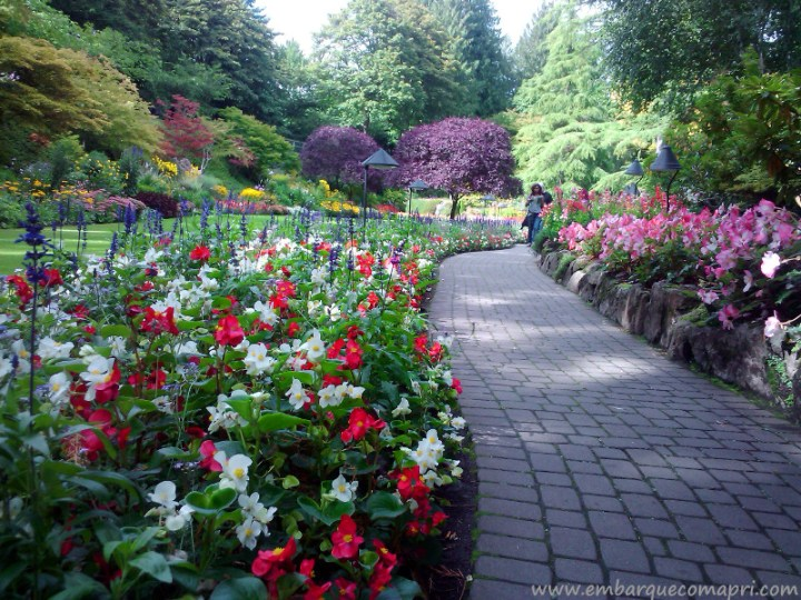 The Butchart Gardens Canada Sunken Garden