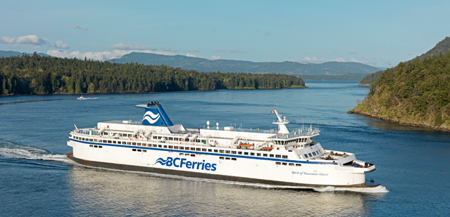 how to get to read island bc
