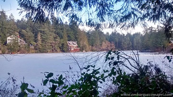 Fork Lake congelado!
