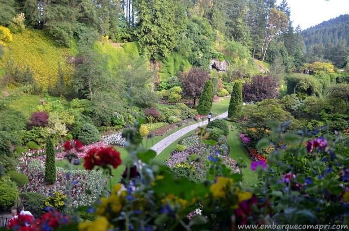 The Butchart Gardens Sunken Gardens