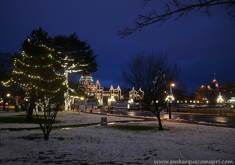 eventos natalinos em Victoria Canadá