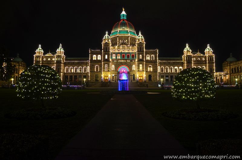 iluminação noturna de Victoria
