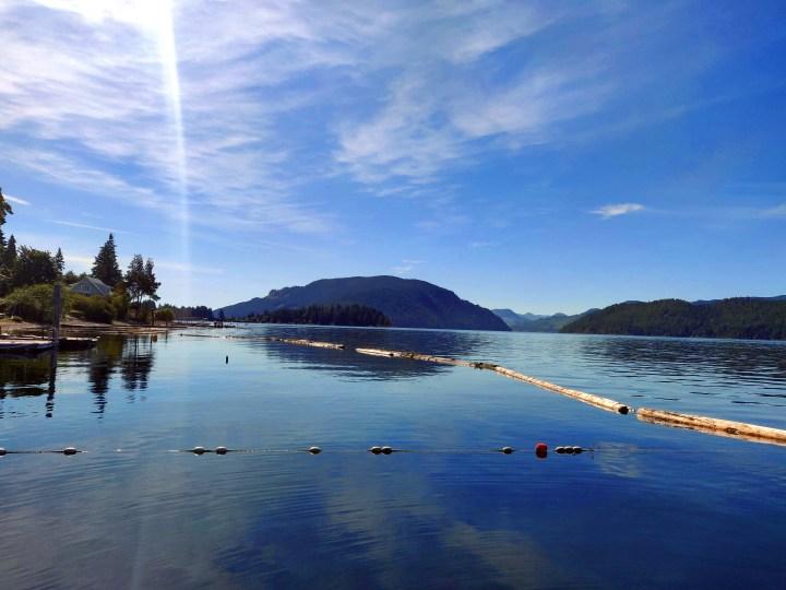 verão na Ilha de Vancouver