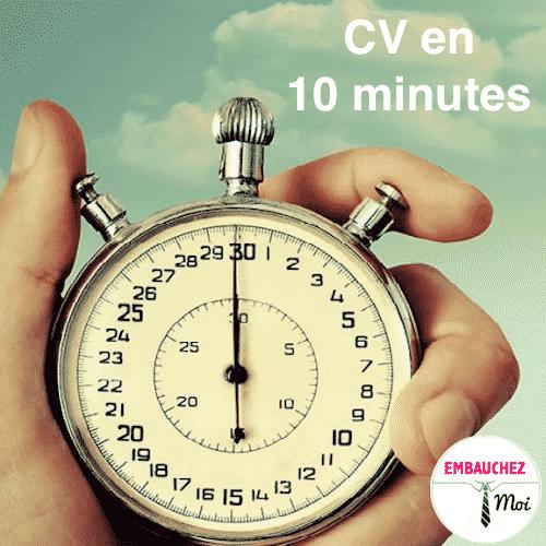15 changements  u00e0 faire sur votre cv en moins de 10 min