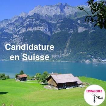 Réussir sa candidature en Suisse