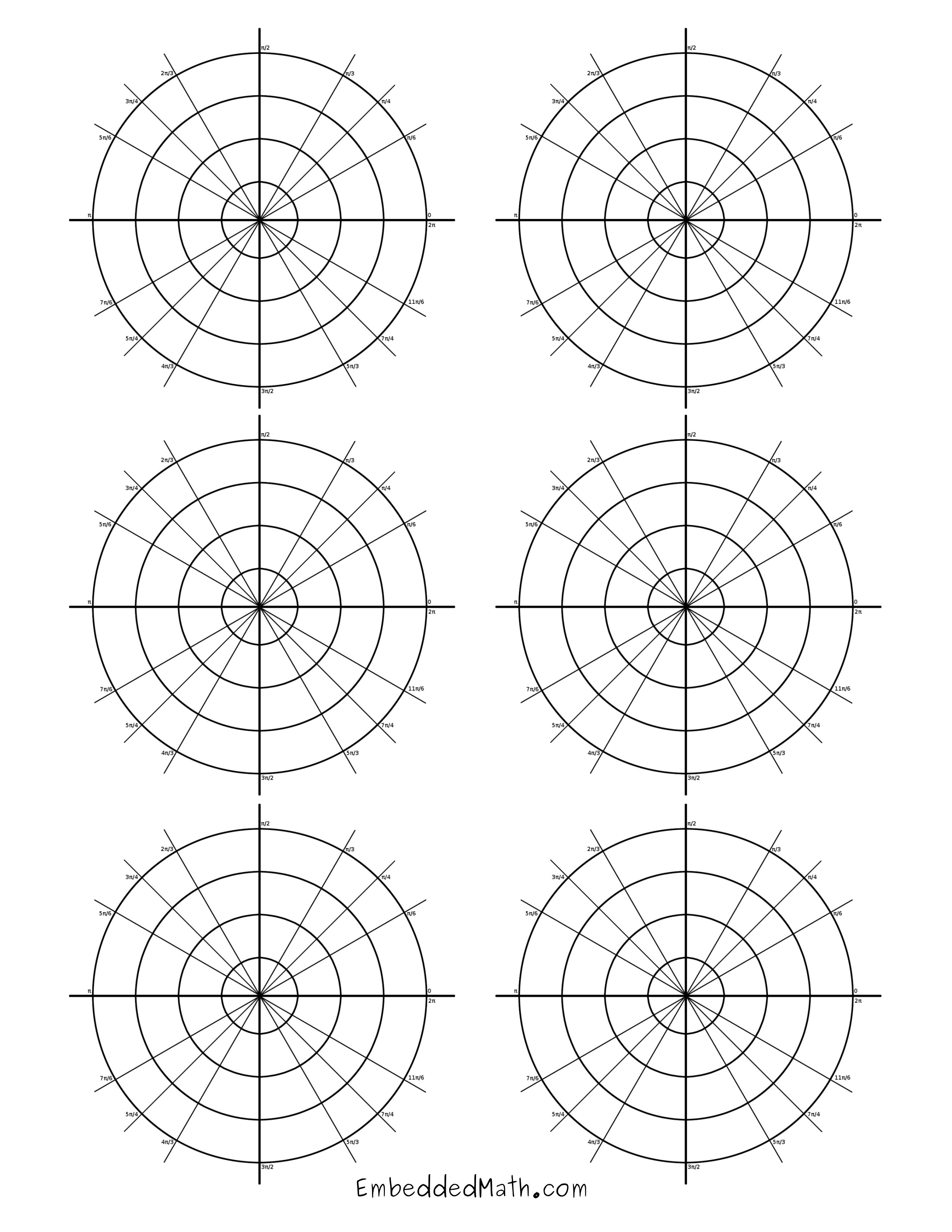 Search Results For Polar Coordinate Graph Paper