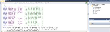 AVR_interafce_to_LCD