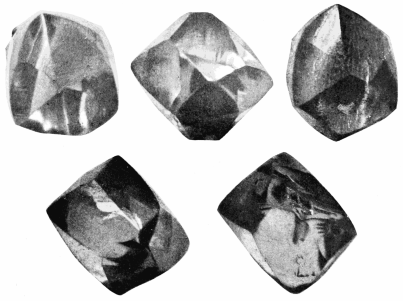 Five Views of the Eagle Diamond