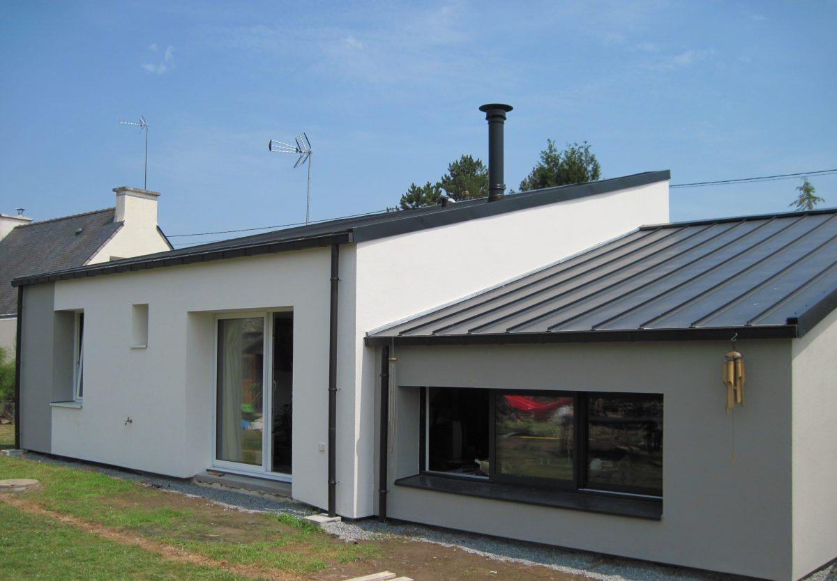Facade exterieur maison maisons amnagement extrieur for Couleur exterieur maison moderne