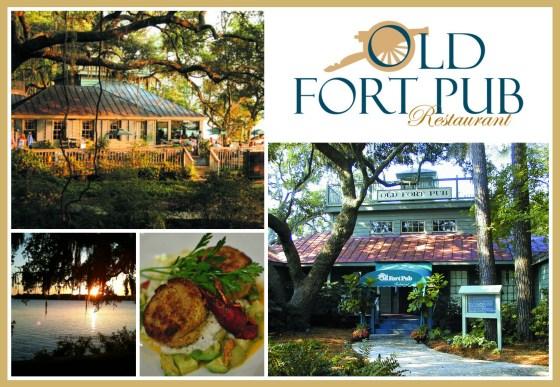 Hilton Head Rehearsal Dinner Location: Old Fort Pub