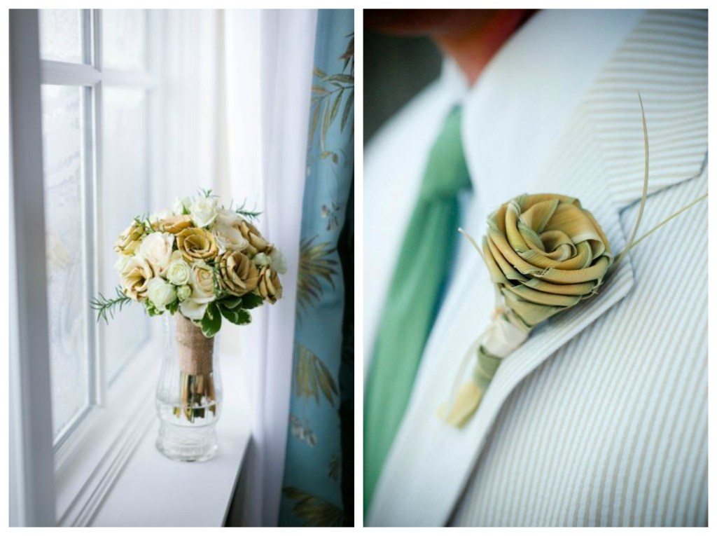 palm rose wedding