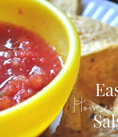 Quick and Easy Homemade Salsa