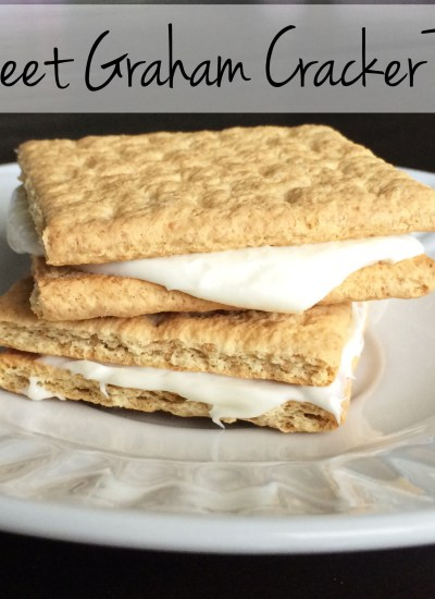 Heaven on a graham cracker. This sweet treat will appeal to all ages!