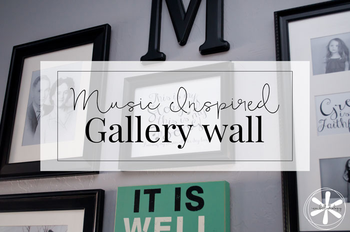 Creating a gallery wall can be as simple as taking inspiration from your photos and decor.
