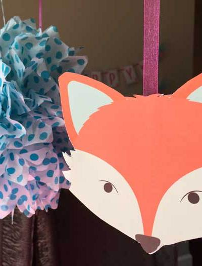 A fox themed party for a pre-teen.